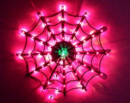 spiderweb light